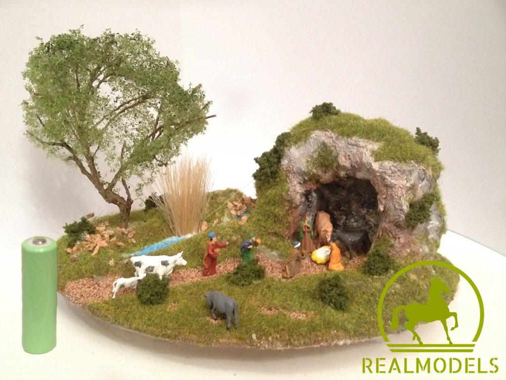 Presepe micro realizzazione e progettazione plastici for Costruisci il tuo bungalow