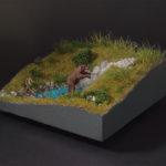 diorama ambientazione naturale