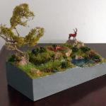realizzazione diorami e plastici naturalistici
