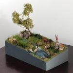 piccolo diorama naturalistico