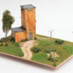 diorama architettonico e paesaggistico