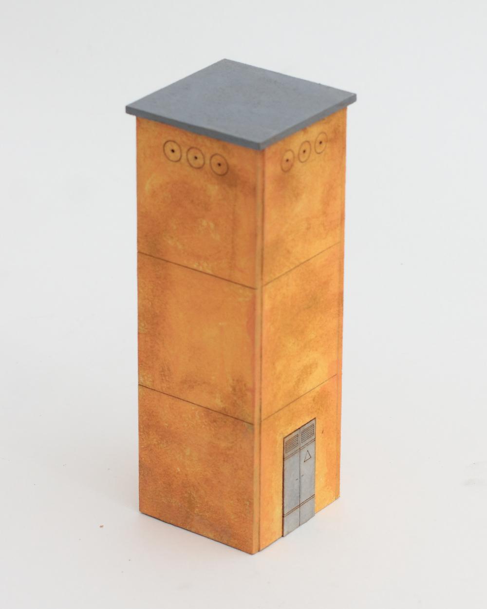 Cabina enel invecchiata realizzazione e progettazione for Scala a chiocciola della cabina