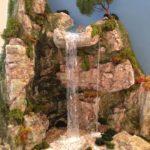 diorama cascata