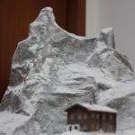 plastico con ambientazione invernale