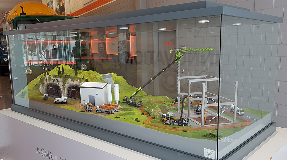 Diorama per aziende e musei