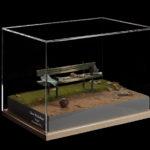 diorama panchina fondazione Juventus