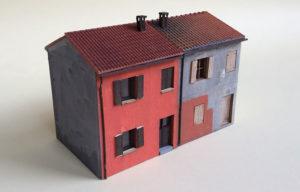 edifici italiani in scala H0