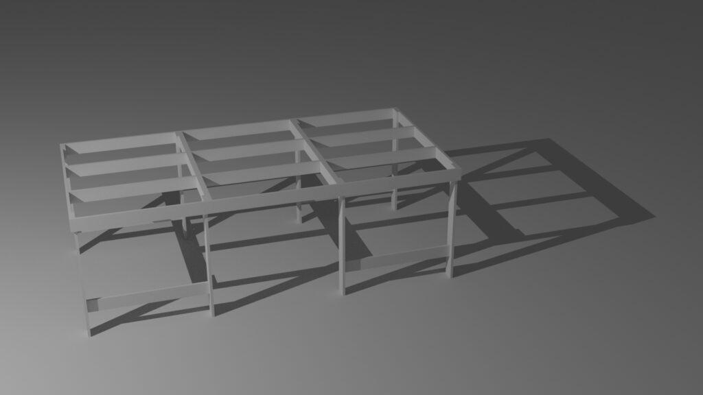 tavolo per plastico